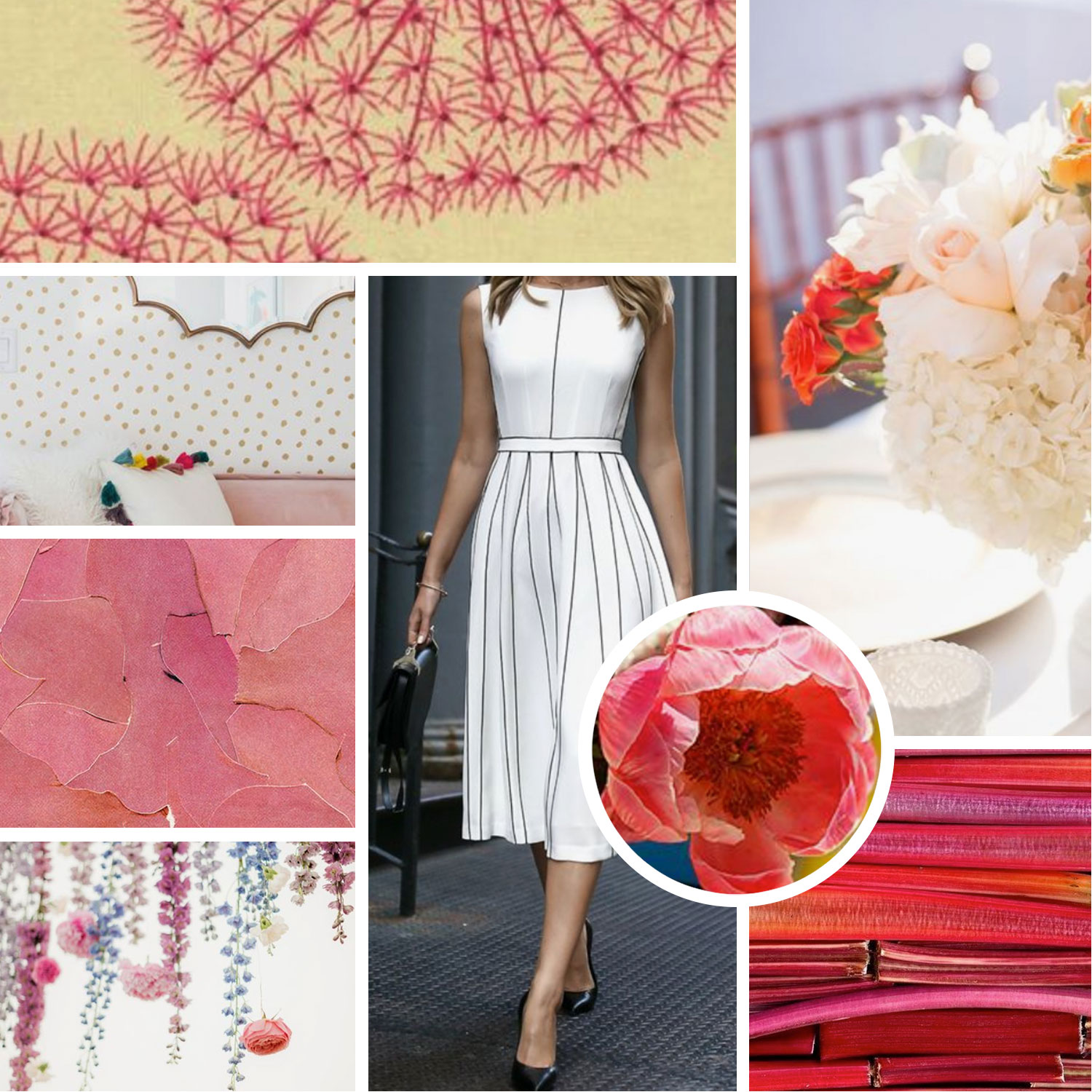 whimsical mood board