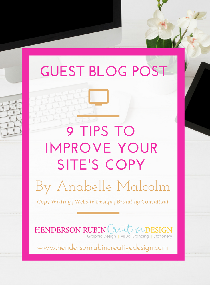 9 tips to improve website copy